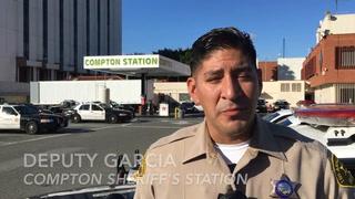 Compton Deputy Garcia