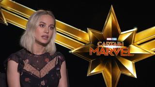 Captain Marvel – Interview Brie Larson