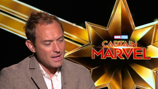 Captain Marvel – Interview Jude Law