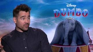 Dumbo - Interview Colin Farrell