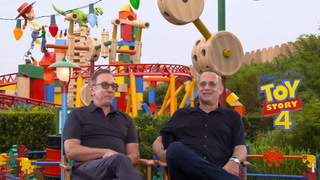 Toy Story 4 – Interview Tom Hanks and Tim Allen 1